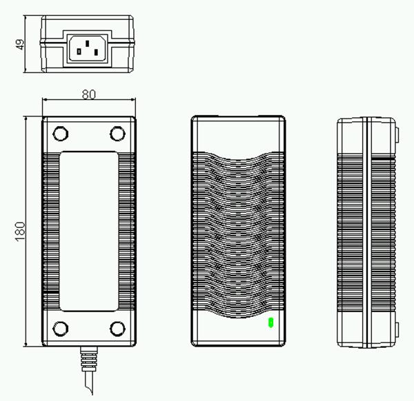 ac  dc adapter led light 120w 15v power supply